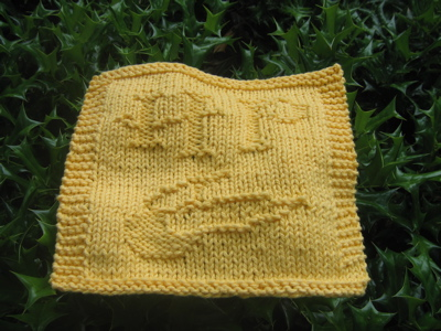 Free Harry Potter Knitting Patterns : Harry Potter Dishcloth design** Updated** 6/21 InsanKnitty