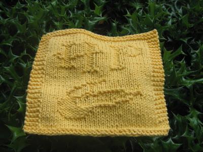 Harry Potter Dishcloth design** Updated** 6/21 InsanKnitty